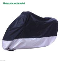 AU Motorcycle Cover Waterproof Motorbike Storage Cover For Honda 230x95x125cm