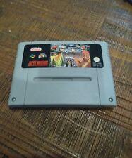 Super Nintendo SNES WWF Super Wrestlemania PAL