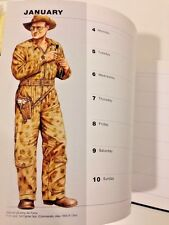 Osprey Illustrated Military Diary 1999 Full Color Plates of Uniforms History
