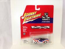 Johnny Lightning JL Collection 1971 Dodge Challenger Red White Blue MOC 2001 NIP