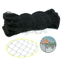 "2"" x 2"" Mesh Bird Netting 25' X 50' Net Netting Aviary Game Poultry Bird"