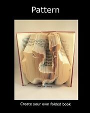 Scooter Book Folding PATTERN~~ PATTERN- create your own folded book art