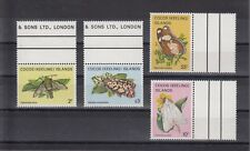 TIMBRE STAMP 4 ILES COCOS Y&T#93-96 PAPILLON BUTTERFLY NEUF**/MNH-MINT 1983 ~B91