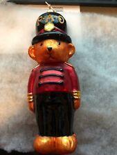 "Radko Fao Schwarz ~ 96-Fao-04 ~ ""Toy Soldier Bear"" ~ #3148/5000 ~ Rare"