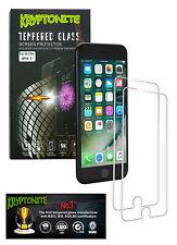 2x Pack KRYPTONITE Protectores de Pantalla de Vidrio Templado para iPhone 7