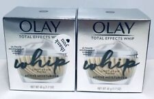 Olay Total Effects Whip Active Moisturizer, Lot of 2, 1.7 oz. each 6423