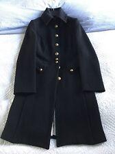 Super Smart United Colour Of Benetton Women's Military Style Coat Size 6/8