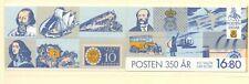 Sweden 1986 SG 1294 Post Office Anniversary booklet Transport MNH
