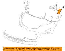 GMC GM OEM Terrain Front Bumper Grille Grill-Park Sensor Bracket Left 23190718