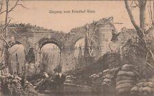 * GORIZIA GORZ - Eingang zum Friedhof (Cimitero) WWI
