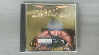 X Raided The Unforgiven Vol.1 CD Black Market Bay Area Sacramento Brotha Lynch