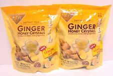 2 Pk Prince Of Peace-Instant Ginger Honey Crystals Tea Lemon (30*18g Bag)=60 Bag