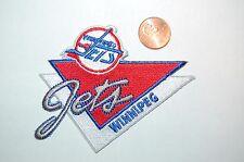 "Winnipeg Jets 3 1/2"" Retro Vintage Banner Logo Patch Hockey"