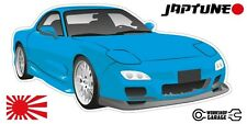 Mazda RX-7 Series 6  - Blue - JDM Twin Turbo  - JapTune Brand