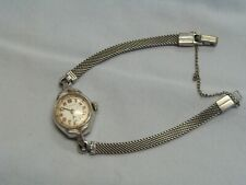 Hamilton women's watch 10kt GF Bezel Vintage Steel Back