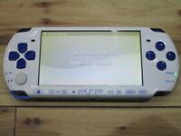 Sony PSP 3000 Console BluexWhite Japan o902