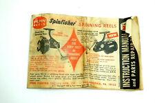ORIGINAL 1965 PENN REELS CATALOG NO 28B FULL OF OLD REELS AND OTHER VINTAGE