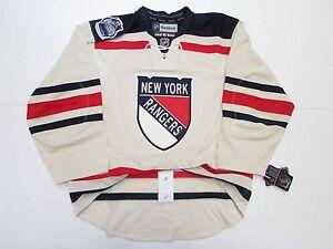 NEW YORK RANGERS 2012 NHL WINTER CLASSIC REEBOK EDGE 2.0 7287 HOCKEY JERSEY
