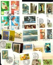 South Africa kiloware - 300 (most) different stamps from First Day Covers (61U)