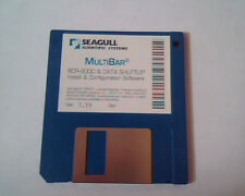 Floppy Disk Seagull Scientific Systems MultiBar BCR-2000 Data Shuffle Ver 5.19