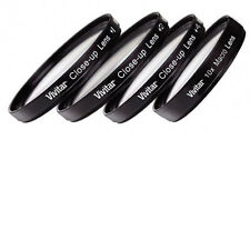 4 piece Close Up filter set +1 +2  +4 &  +10 For Nikon Coolpix P510 & P520 Macro