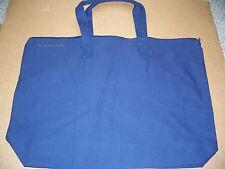 NWOT F1 Bag Edge 009 Navy Blue 100% Cotton 12oz zipper tote with inside pocket