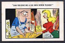 COMIC = Seaside Humour - Suggestive. c.1960. Unused.