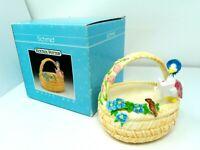 Vintage 1990 Schmid Beatrix Potter Jemima Puddle Music Box w/ Box April Love
