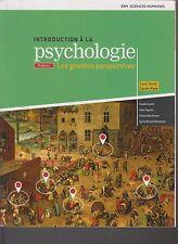 Introduction A LA Psychologie 3rd Ed Les Grandes Perspectives w/Access Code 83