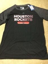 NBA ROCKETS Adidas Men Reflective Authentic Climate Ultimate S/Tee, LARGE NWT