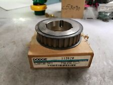 """NEW DODGE 113620 BUSHING BORE TIMING BELT PULLEY 30 TOOTH 0.50"""" PITCH"""