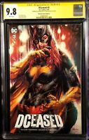DCEASED #3 CGC SS 9.8 X2 ANACLETO TAYLOR BATGIRL ZOMBIE BATMAN ARTGERM HOMAGE DC
