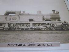 Die Eisenbahn 11 Argentinien 2-c-2 Tenderlokomotive der GOA