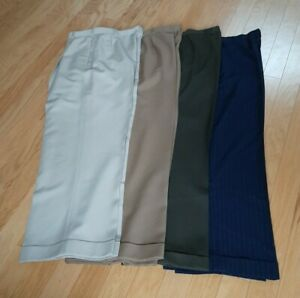 Wide Leg Dress Pants (High waist) Trousers 32 x 34 (1 pair left)