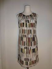 Ellen Tracy Size 4 , Multi-Color Fully Lined Sleeveless Shift Dress