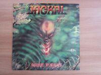 JACKAL - Vague Visions 1993 Korea Orig Vinyl LP INSERT