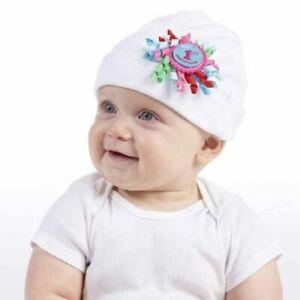 Mud Pie Holiday My First Christmas Baby Girl 1st Christmas Newborn Hat 1512045