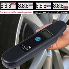 Digital Car Motor Vehicle Tyre Tire Garage Air Pressure Gauge PSI Tester Tool