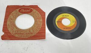 Beatles -Love Me Do/PS I Love You -Capitol Canada 72076 Ringo MONO 45 McCartney