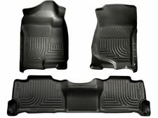 For 2007-2013 Chevrolet Avalanche Floor Mat Set Front and Rear Husky 72572PQ