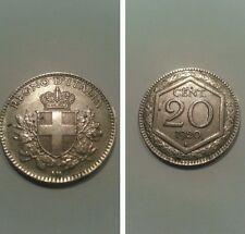 20 centesimi esagono 1920 ottima qualità