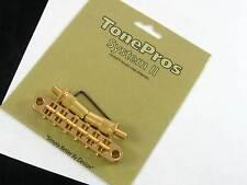 Tone Pros T3BT Locking Metric Bridge 6mm Posts Golf T3BT-G