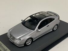 1/43 Minichamps Mercedes C class W203 2000 to 2007 Silver Leather base A1068