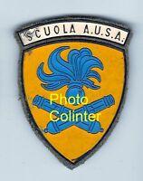 Scuola A.U.S.A.  - Italie  -  Insigne de bras - Années 60 - Distintivo da stoffa