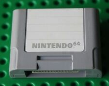 Nintendo 64 N64 OEM Memory Card Controller Pack Official SAVES Video Games NICE!