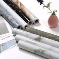 5M Marble Self-Adhesive Contact Paper Aluminum Foil Home Decor Wallpaper Films