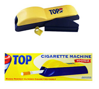TOP 100MM Cigarette Machine - 1 ROLLER - Tobacco Tube Filler Injector RYO 100s