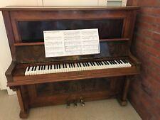Gebrauchtes klavier, braun, um 1920, vom Klavierbauer generalüberholt