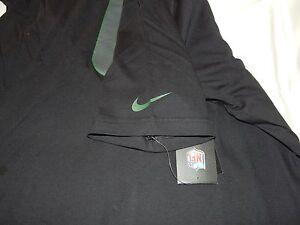 Vintage Nike NFL NY Jets Mark Sanchez #6 Black T-Shirt Size Large- RETAIL $34.00