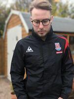 Le Coq Sportif S Training Coat Jacket Men's Stoke City Football Lightweight Zip